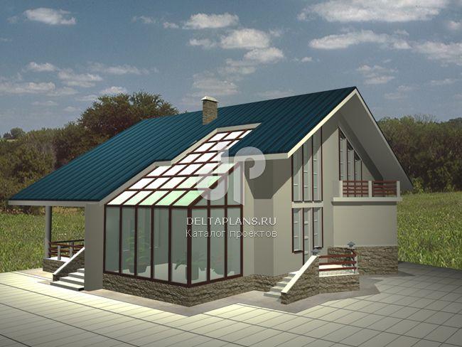 Проект кирпичного дома A-323-1K