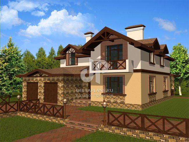Проект кирпичного дома B-271-1K