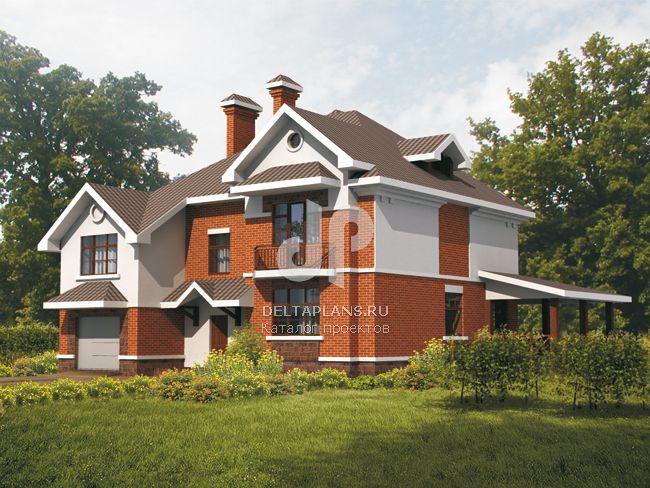 Проект кирпичного дома B-308-1K