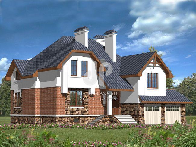 Проект пенобетонного дома № P00019