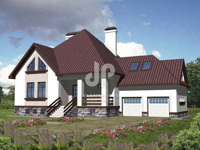 Проект кирпичного дома B-382-1K