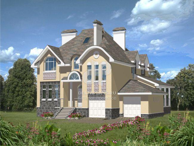 Проект кирпичного дома B-423-1K