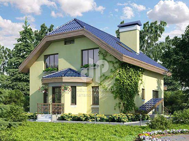Проект кирпичного дома C-264-1K
