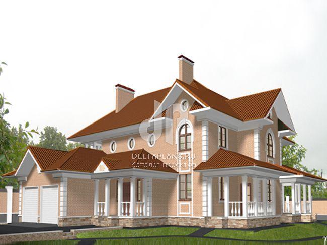 Проект кирпичного дома C-425-1K