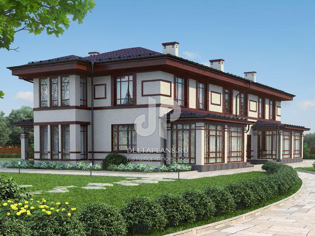 Проект пенобетонного дома D-431-1P