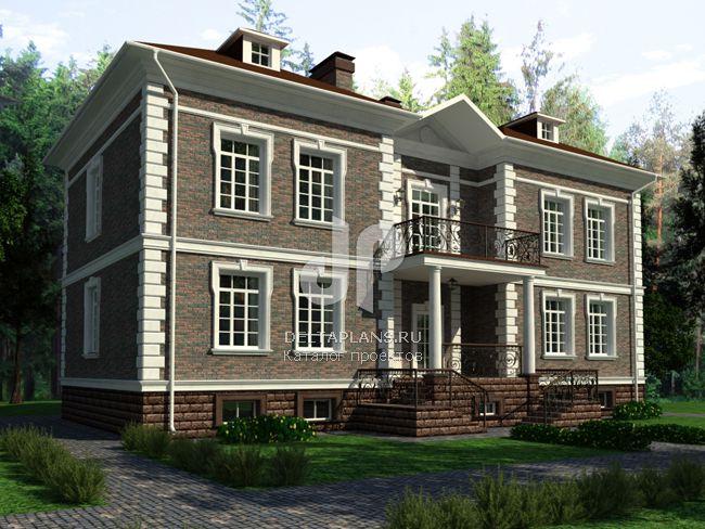 Дизайн домов из пеноблоков