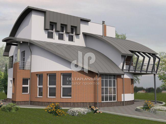 Проект кирпичного дома J-353-1K