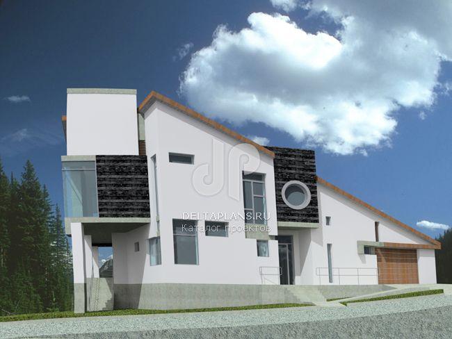 Проект кирпичного дома J-409-1K