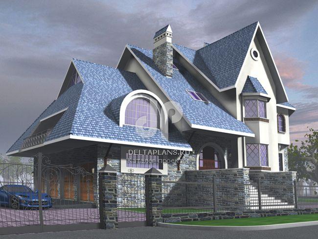 Проект кирпичного дома J-503-1K