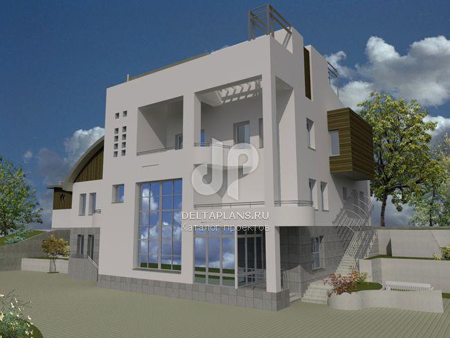 Проект кирпичного дома J-533-1K