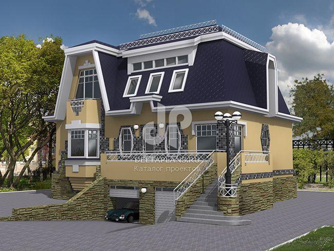 Проект кирпичного дома K-280-1K