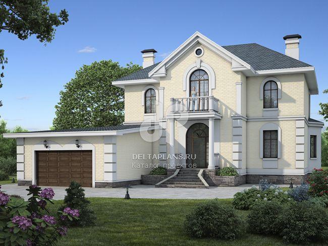 Проект пенобетонного дома l 290 1p