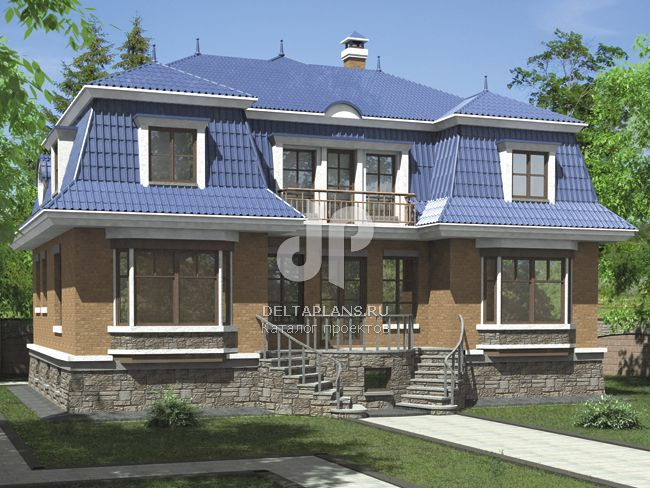 Проект пенобетонного дома L-384-1P