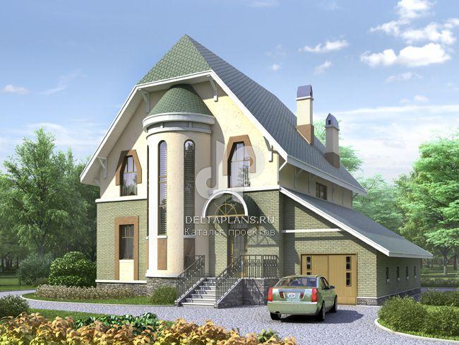 Проект пенобетонного дома N-251-1P