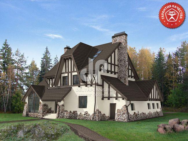 Проект кирпичного дома O-301-1K