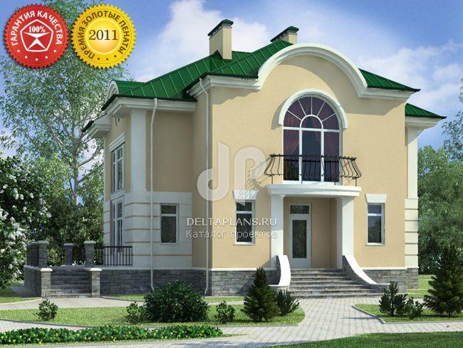 Проект кирпичного дома O-329-1K