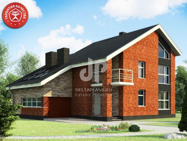 Проект кирпичного дома O-354-1K