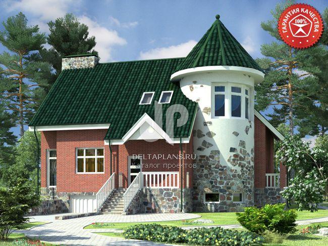 Проект кирпичного дома O-356-1K