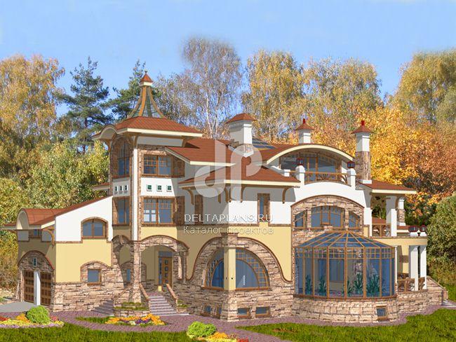 Проект кирпичного дома S-1103-1K