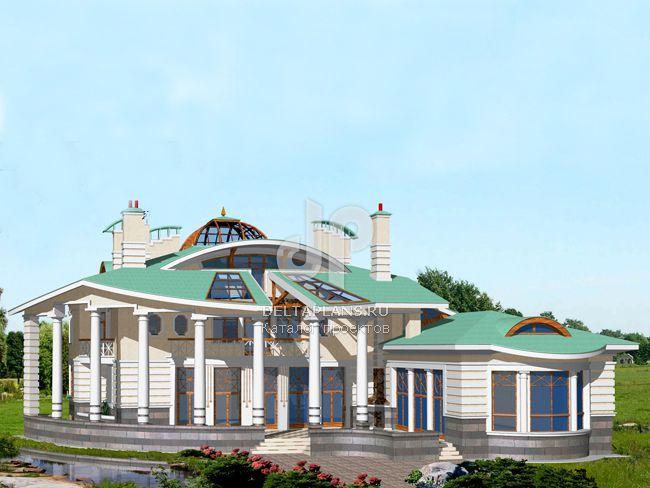Проект кирпичного дома S-1143-1K