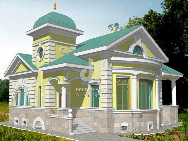 Проект кирпичного дома S-252-1K