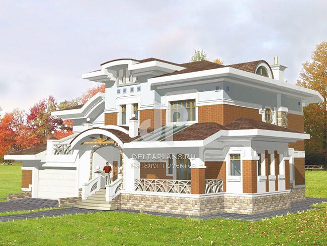 Проект кирпичного дома S-264-1K