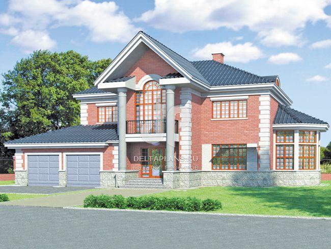 Проект кирпичного дома S-287-1K
