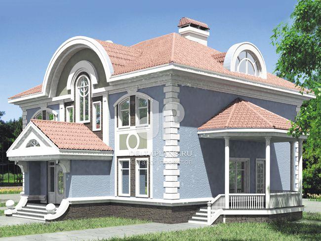 Проект кирпичного дома S-320-1K