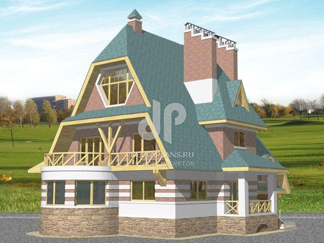 Проект кирпичного дома S-381-1K