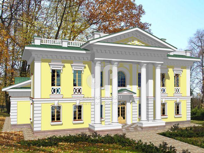 Проект кирпичного дома S-439-1K