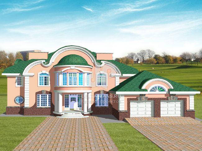 Проект кирпичного дома S-452-1K