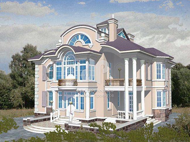 Проект кирпичного дома S-453-1K