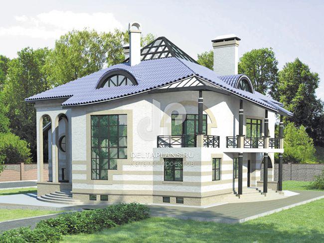 Проект кирпичного дома S-455-1K