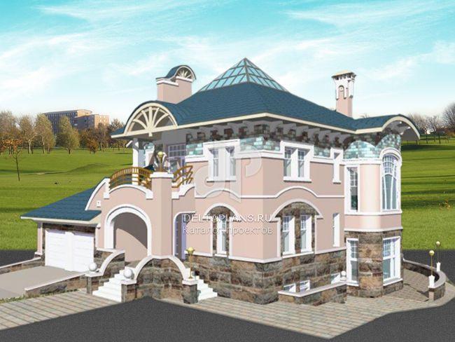 Проект кирпичного дома S-507-1K