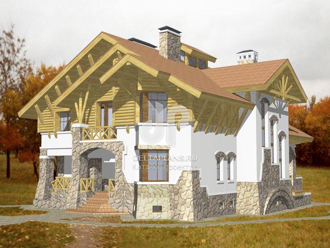 Проект кирпичного дома S-533-1K