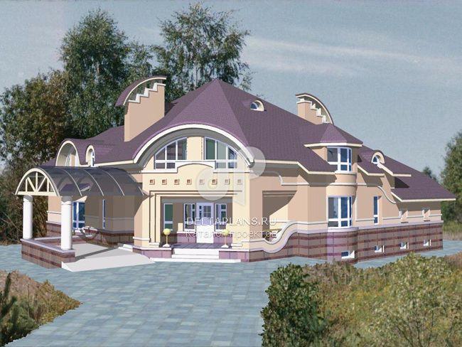 Проект кирпичного дома S-535-1K
