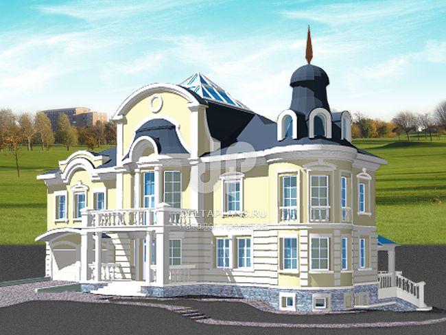Проект кирпичного дома S-536-1K