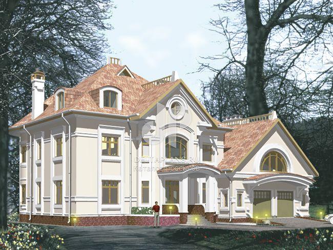 Проект кирпичного дома S-587-1K