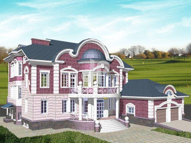 Проект кирпичного дома S-706-1K
