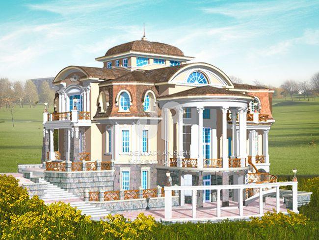 Проект кирпичного дома S-769-1K